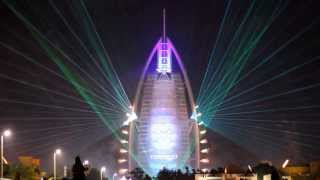 42nd UAE National Day Celebration, Burj Al Arab, Dubai HD