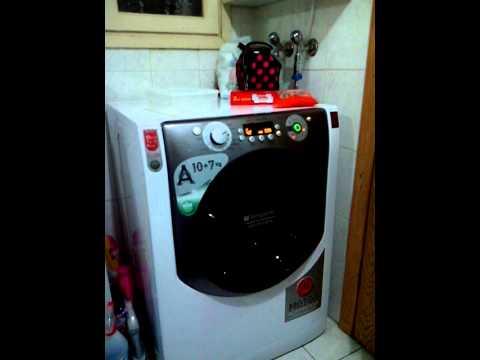 Hotpoint aqd1070f49 yuruyen makina youtube for Hotpoint ariston kühlschrank
