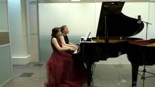 Скачать С Рахманинов Шесть пьес для фортепиано в 4 руки Исполняют Ольга и Ксения Кемовы