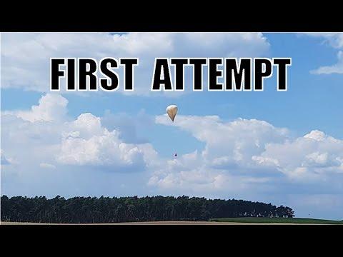 Balloon Launch - Failed Attempt - Camera A
