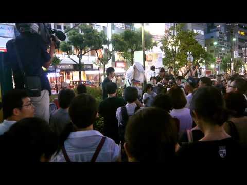 シールズ関西in神戸元町、8月7日...
