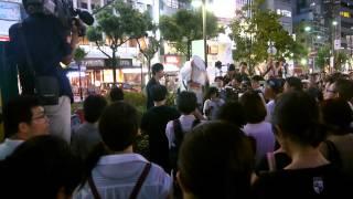 シールズ関西in神戸元町、8月7日JR元町駅