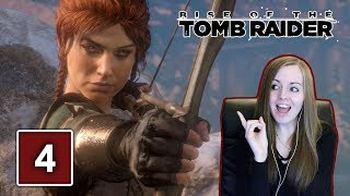 ALOY IN TOMB RAIDER? | Rise Of The Tomb Raider Gameplay Walkthrough Part 4