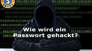 Wie wird ein Passwort gehackt?