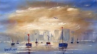 Len Hend Painting Live Stream - Boats and perspective