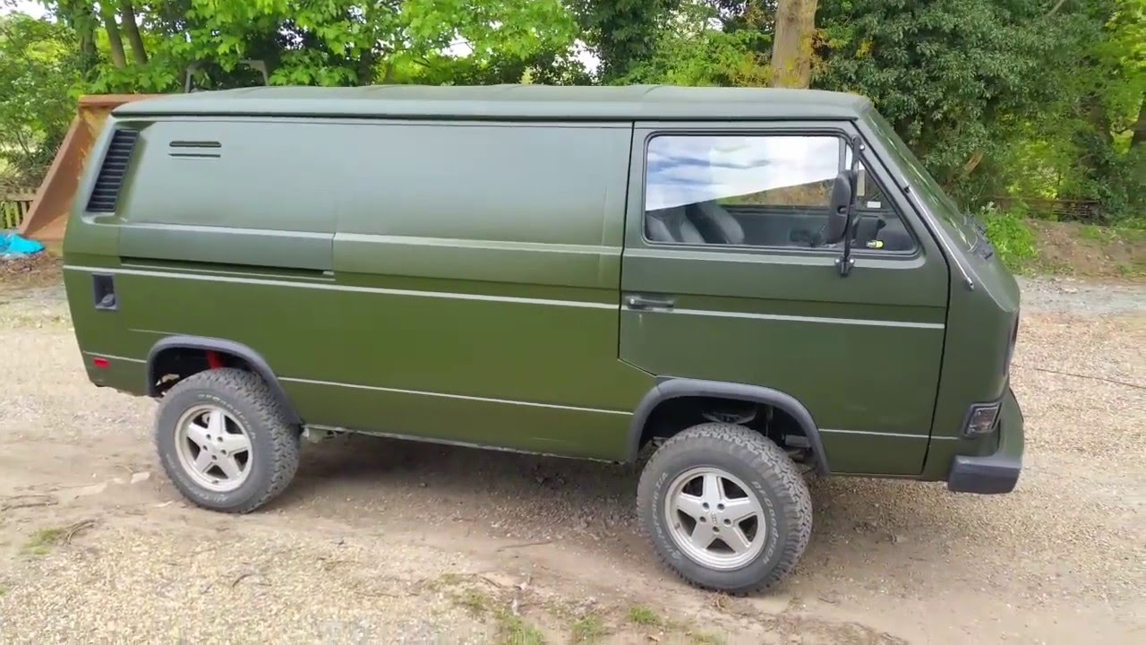 VW T25 T3 Vanagon 2WD to Syncro 4WD Conversion Project - First Fifty Miles
