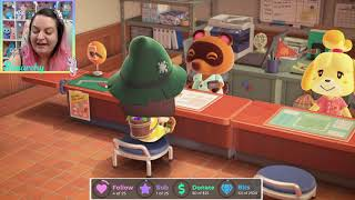 ✨Trying to Pay Off Tom Crook!!✨ Animal Crossing New Horizons