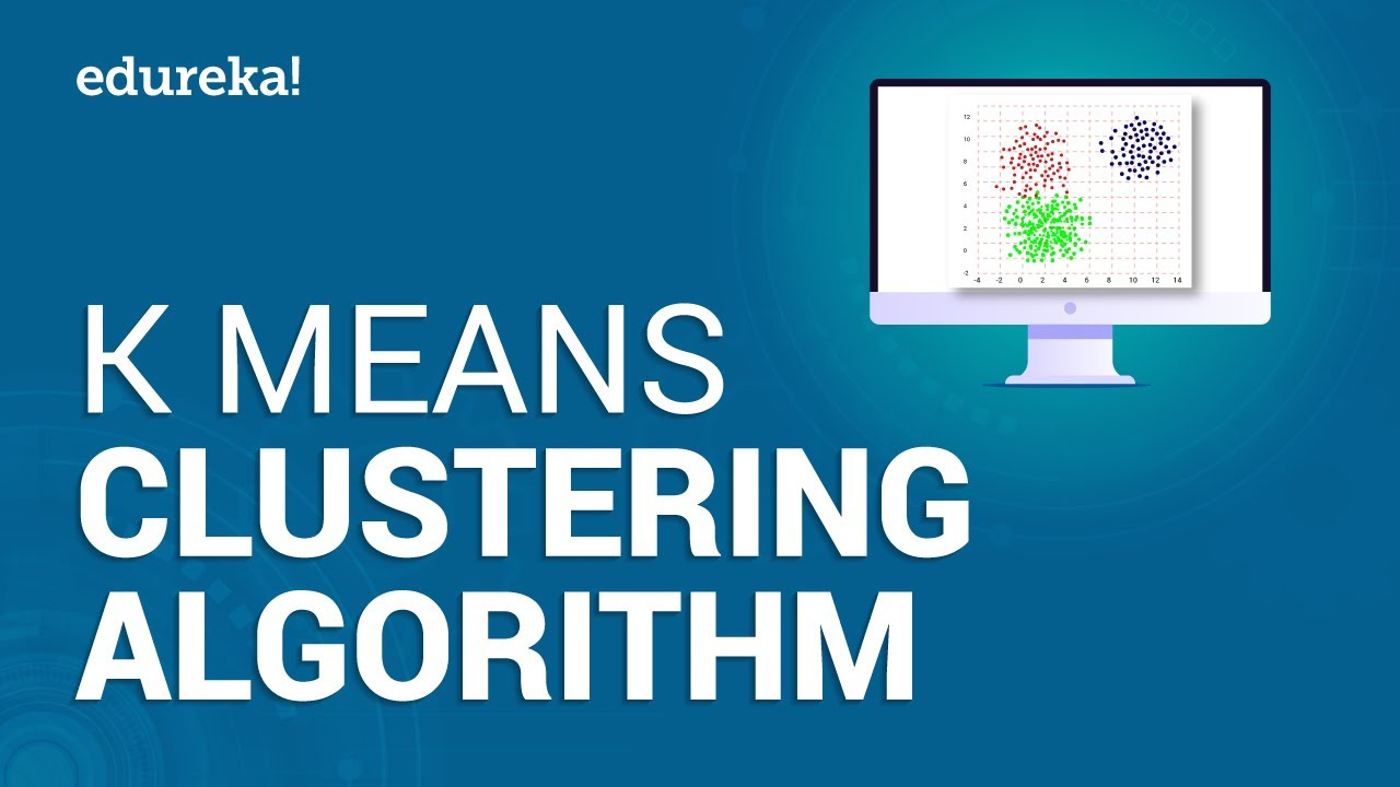 K Means Clustering Algorithm | K Means Example in Python | Machine Learning  Algorithms | Edureka