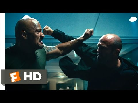 Furious 7 (1/10) Movie CLIP – Hobbs vs. Shaw (2015) HD