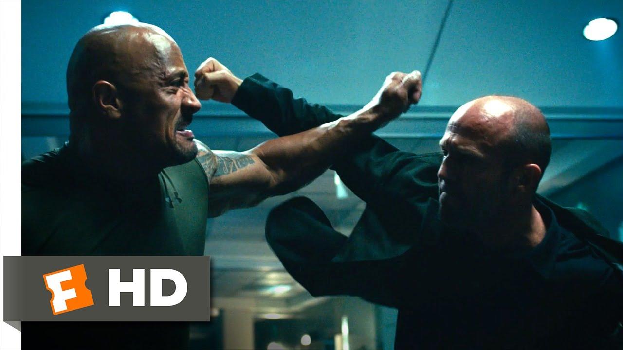 Furious 7 1 10 Movie Clip Hobbs Vs Shaw 2015 Hd Youtube