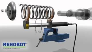 Съемник пружин SC(Гидравлический съемник пружин REHOBOT -- это универсальный и очень мощный инструмент. Съемник пружин имеет..., 2012-05-12T07:05:30.000Z)