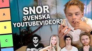 Snor svenska Youtubevideor?