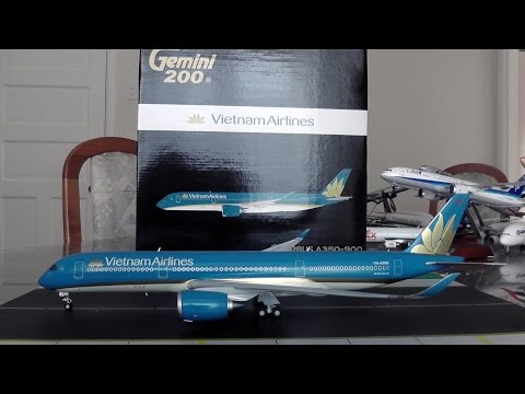 Gemini Jets 1:200 Vietnam Airlines A350-900XWB Unboxing and Review