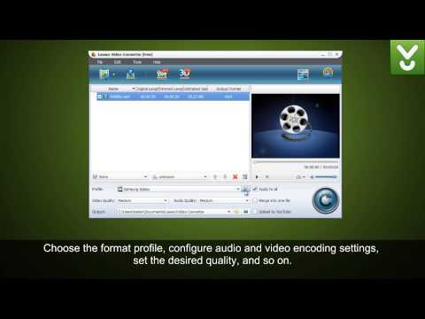 Leawo Video Converter - Convert Audio And Video Files - Download Video Previews
