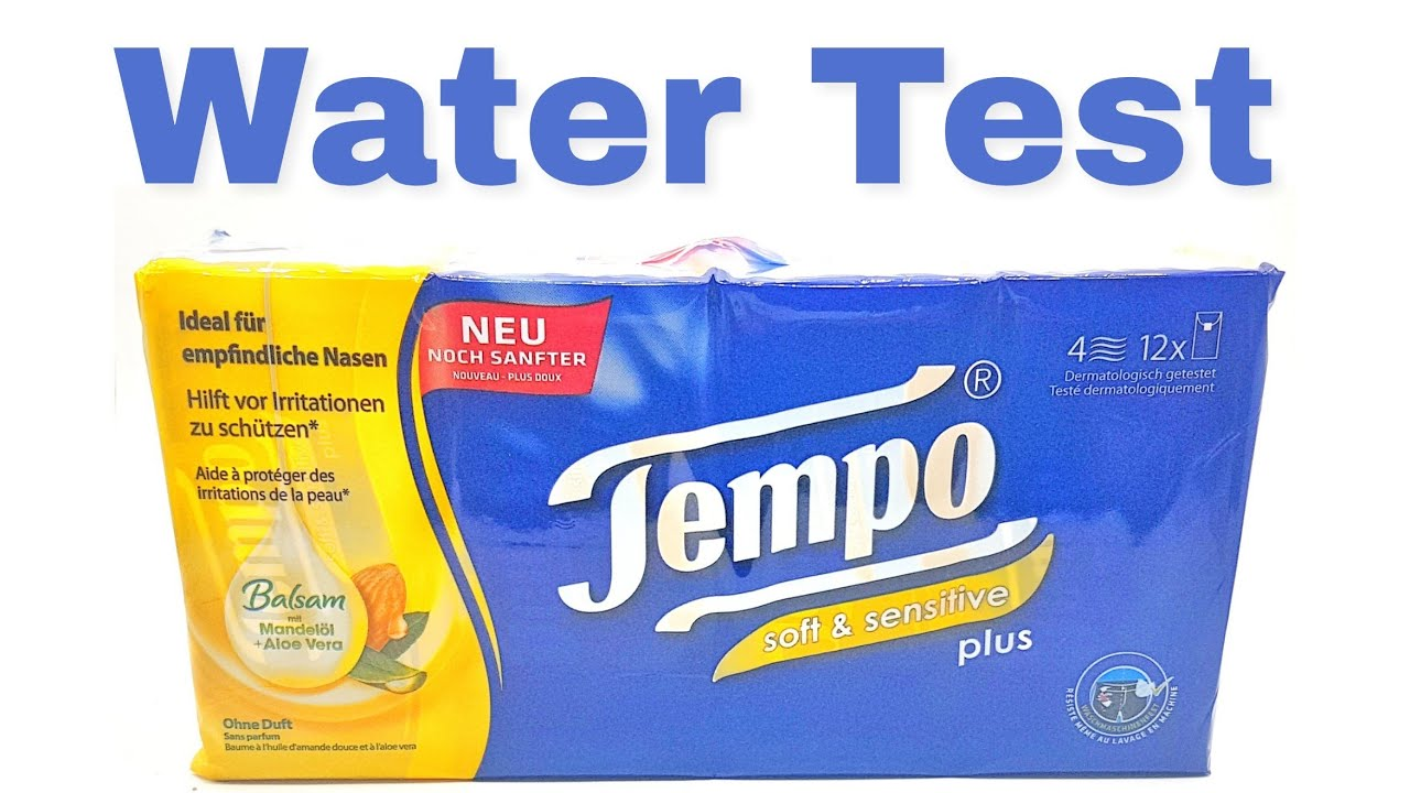 tempo paper tissue water test washing machine w sche waschmaschine test experiment youtube. Black Bedroom Furniture Sets. Home Design Ideas