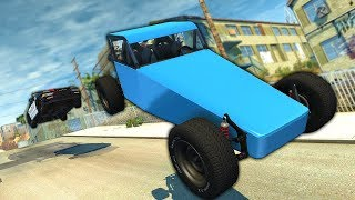 Dangerous Police Chases with the AI Traffic! - BeamNG Gameplay & Crashes - Police Escape