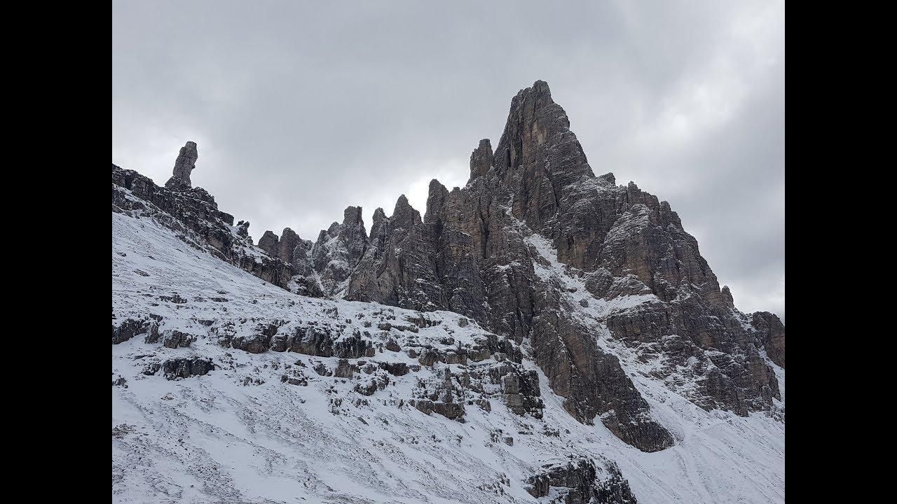 Klettersteig Paternkofel : Sexten klettersteig paternkofel youtube