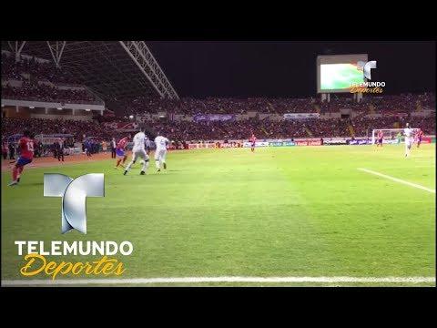 Costa Rica celebra con su afición el pase a Rusia 2018 |  Rumbo al Mundial | Telemundo Deportes