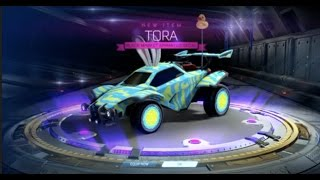 new mystery decal in first turbo crate rocket league