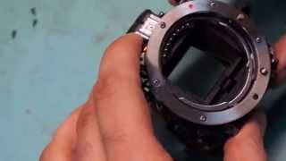 видео ремонт фотоаппаратов sony