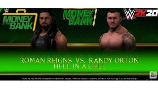 ROMAN Reigns VS RANDI ORTON IN HELL IN A CELL WWE 2K20