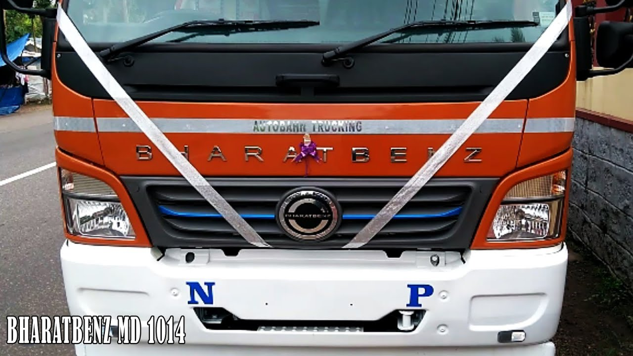 Bharatbenz Md 1014 Truck Review 140bhp Power And 420nm Torque