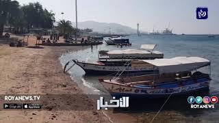 نشاط سياحي وتجاري في العقبة في أيام الكرنفال الثالث - (13-2-2018)