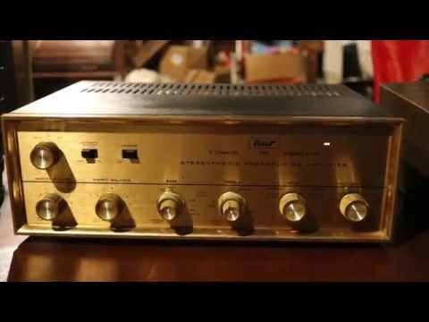 Pilot 240 Tube Amp Pre Amp Demo For Eerosantiques On E