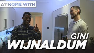 At home with... Gini Wijnaldum | Primark socks, Big Shaq and scousers with 'Vuj'