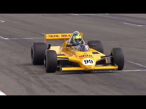 FIA Historic Formula One Ford Cosworth DFV 3.0L V8 - Amazing Sound!