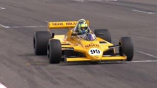 FIA Historic Formula One Ford Cosworth DFV 3.0L V8 - Amazing Sound!