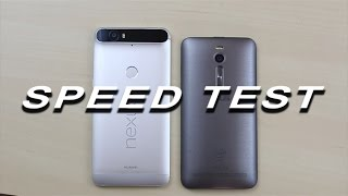 Huawei Nexus 6P vs Asus ZenFone 2 - Speed Test (curiosity test who wants to upgrade)