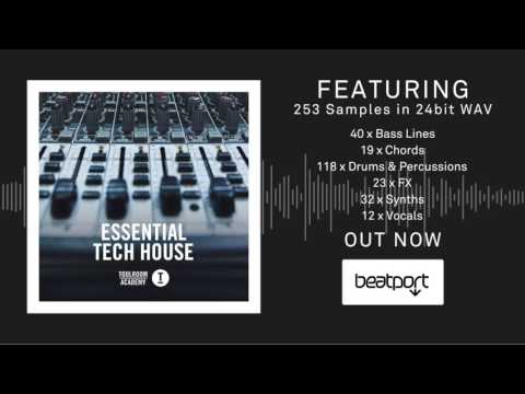 Essential Tech House - The Sample Pack