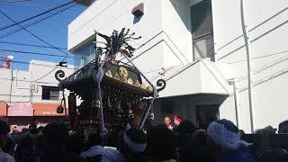 令和元年・平塚南金目神社 御嶽神社例大祭合同渡御