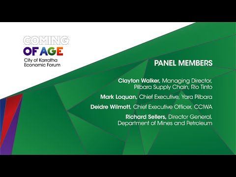 Coming of Age Forum Perth 6th November 2014  - Resources Industry Insight Panel