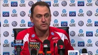 SwansTV: John Longmire post-match R9