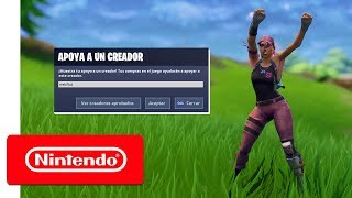 """Fortnite: Support-A-Creator Program - How To Support Me In-Game! Use """"Nebflut To Help Support Me!"""