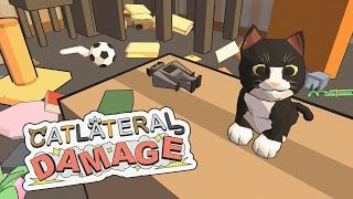 """Catlateral Damage (PS4) """"The Worst Cat!"""""""