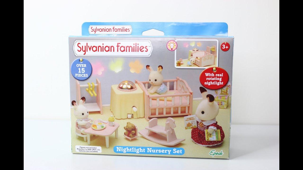Nightlight Nursery Set Sylvanian Families