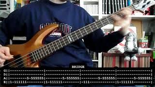 LOS SUAVES - Por una vez en la vida (bass cover w/ Tabs)