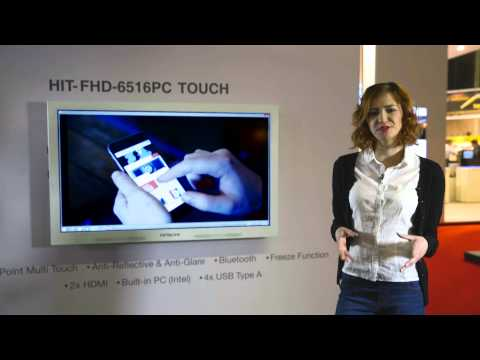 ISE 2015 Product Demonstration of 65 IFPD