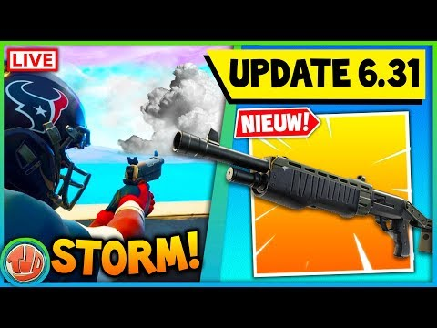 🔴 DE GROTE V6.31 UPDATE!! GAMEPLAY NIEUWE PUMP & ALLES LIVE LEAKEN!! - Fortnite: Battle Royale