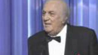 Federico Fellini's Honorary Award: 1993 Oscars