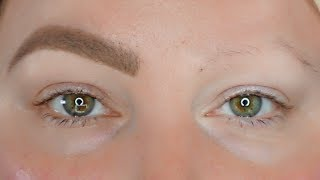 IN DEPTH EYEBROW TUTORIAL FOR SPARSE BROWS FOR BEGINNERS  (UPDATED)