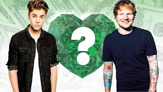 WHO'S RICHER? - Justin Bieber or Ed Sheeran? - Net Worth Revealed!