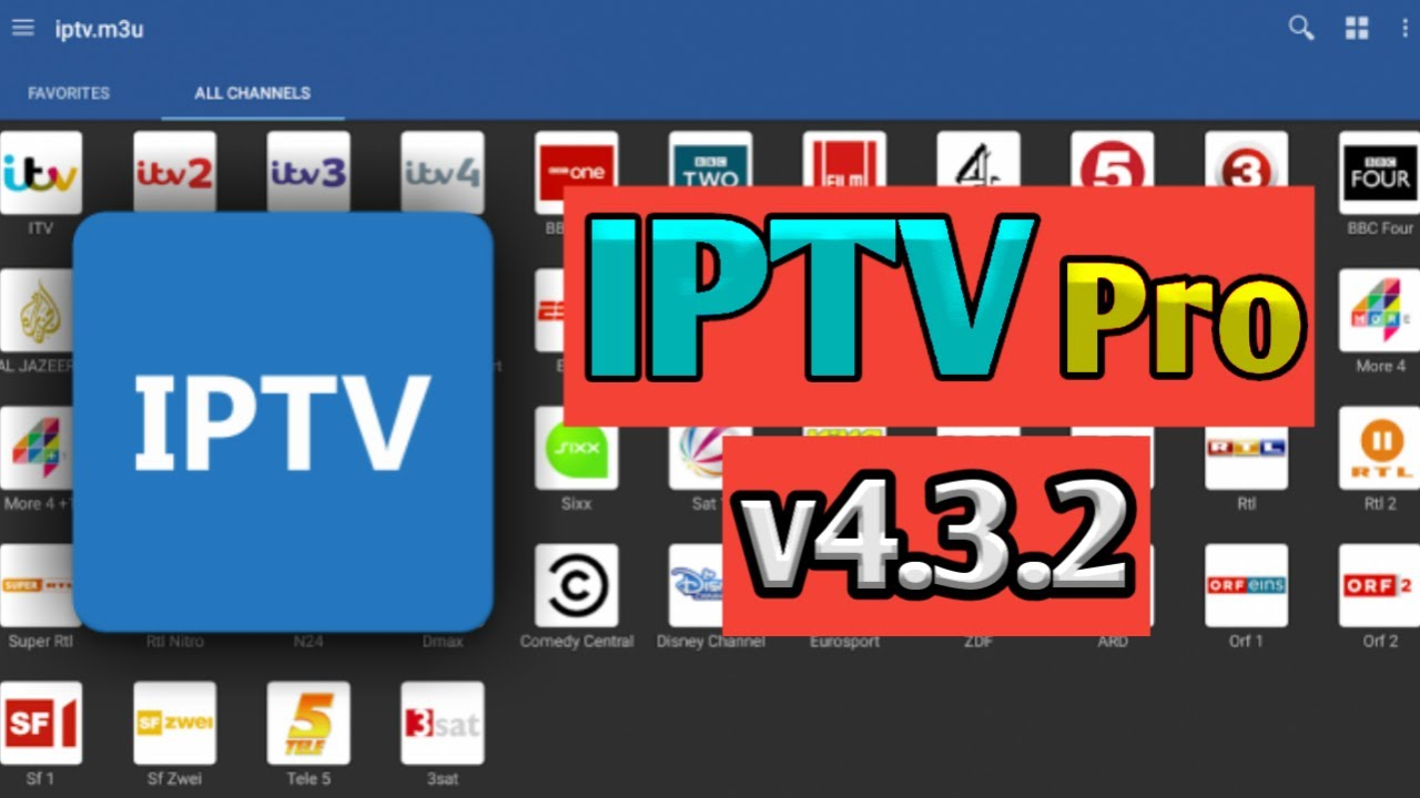 IPTV PRO + link m3u 2019 channel indonesia