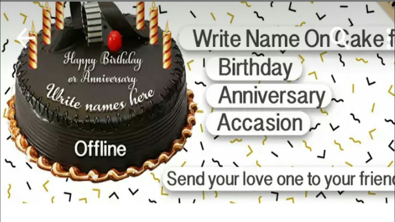 Make A Cake And Share It On Facebook Whats Up Birthday Anniversary Etc