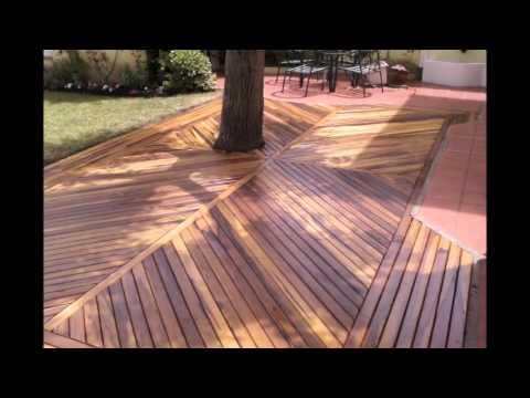 C mo hacer un deck en m dulos doovi for Como hacer un piso con palets