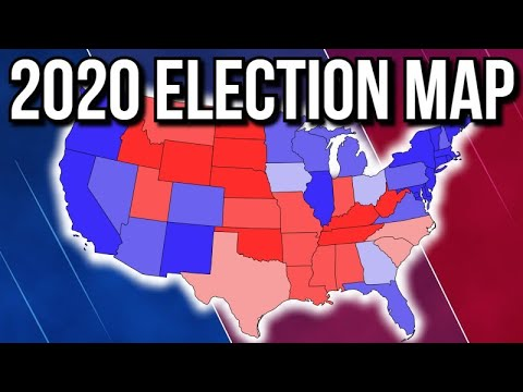 NEW Updated 2020 Presidential Election Map | 2020 Election Analysis
