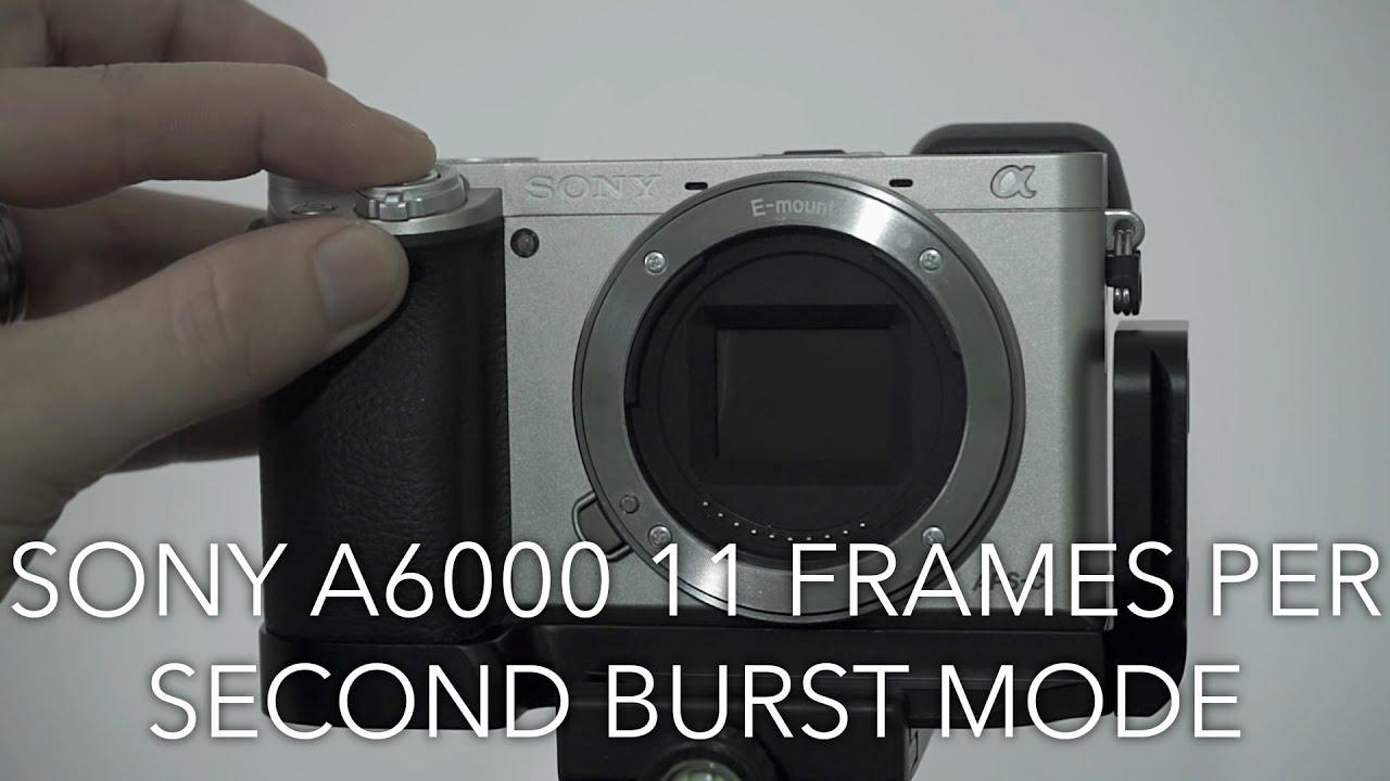 Sony A6000 11 Frames Per Second Burst Mode Test - YouTube